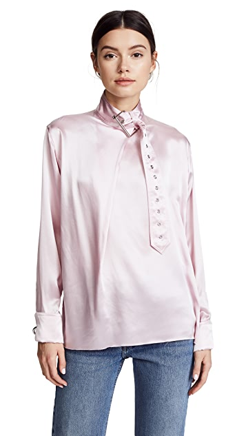 Marques Almeida Buckle Blouse