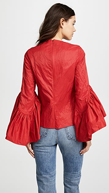 Marques Almeida Oyster Sleeve Top