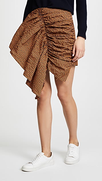 Marques Almeida Gathered Front Skirt