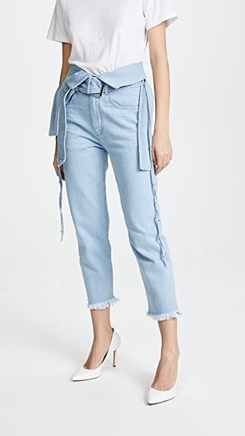 Marques Almeida Crossover Trousers