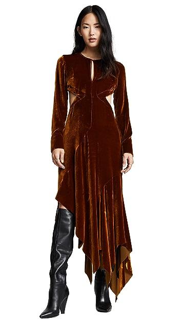 Marques Almeida Cutout Back Dress
