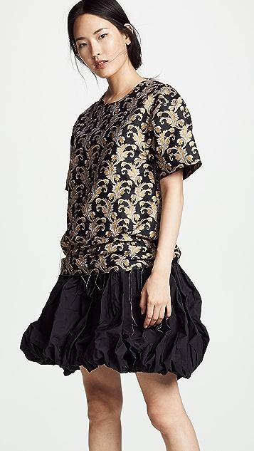 Marques Almeida T-Shirt Dress With Ruffles