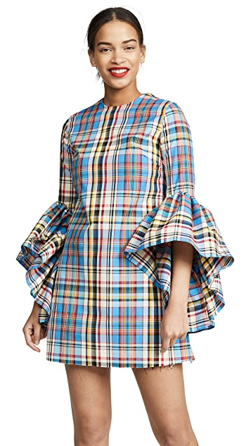 Marques Almeida Janis Dress with Oyster Sleeves