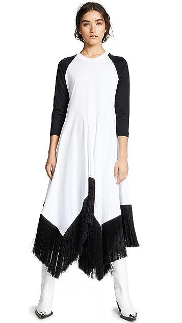 Marques Almeida Raglan Handkerchief Dress