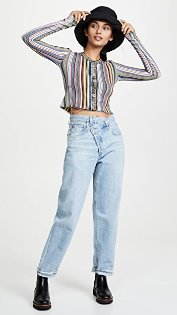 Marques Almeida Cropped Cardigan