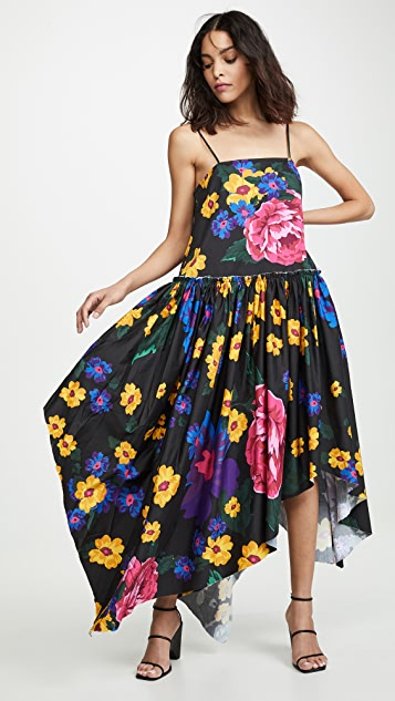 Marques Almeida Gathered Waist Dress