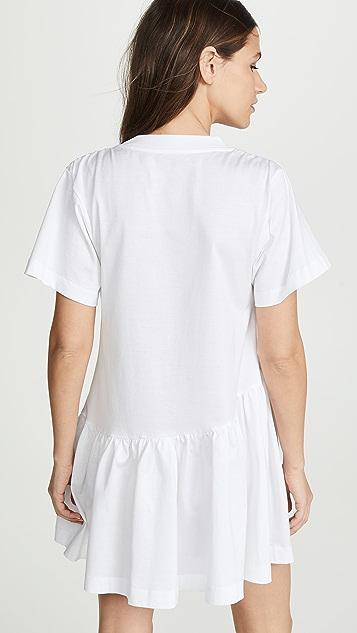 Marques Almeida Paneled T-Shirt Dress