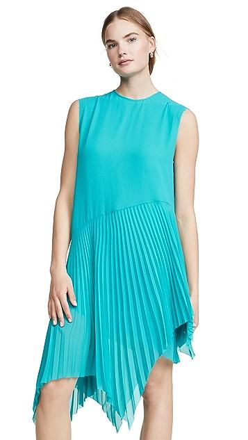 Marques Almeida Plisse Sleeveless Dress