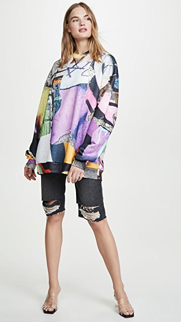 Marques Almeida Oversized Sweatshirt