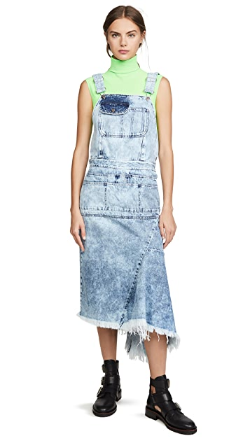 Marques Almeida Dungaree 连衣裙