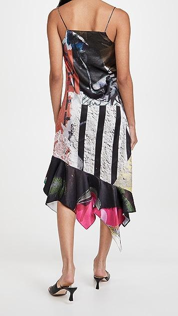Marques Almeida Spaghetti Strap Dress
