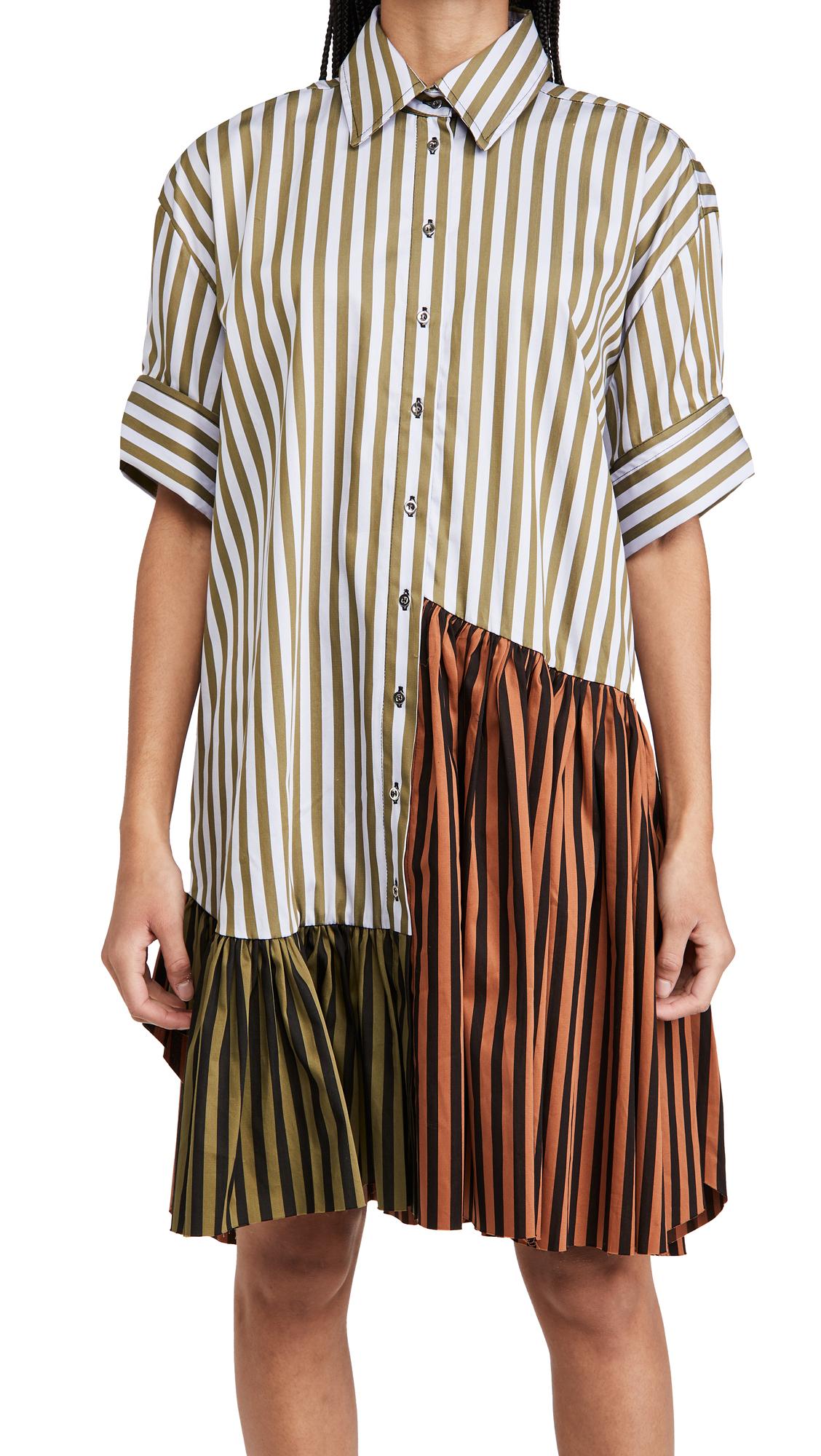 Marques Almeida Patchwork Shirt
