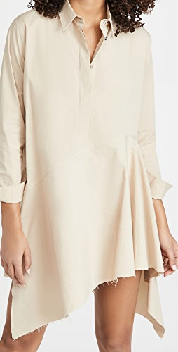 Marques Almeida - Asymmetric Shirt Dress