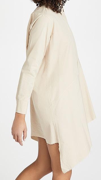 Marques Almeida Asymmetric Shirt Dress