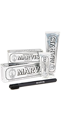 Marvis - Whitening Mint & Toothbrush Set