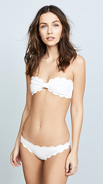 Marysia Antibes Scallop Bikini Top