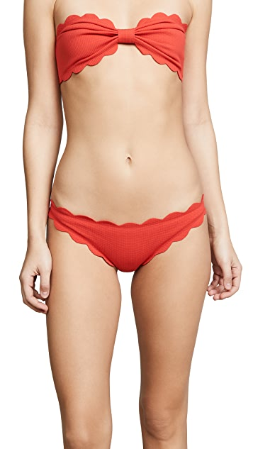 Marysia Antibes Scallop Bikini Bottoms
