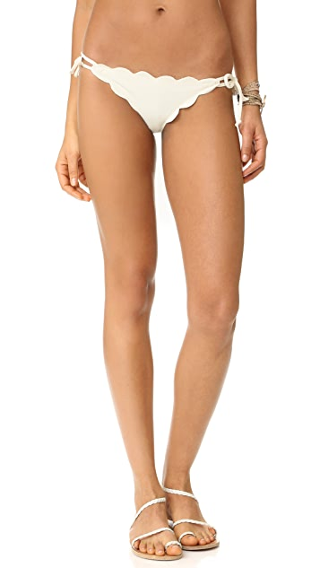 Marysia Mott Scallop Bikini Bottoms