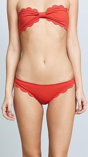 Marysia Broadway Scallop Bikini Bottoms