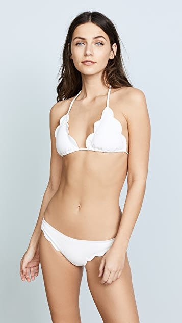 Marysia Broadway Scallop Bikini Top
