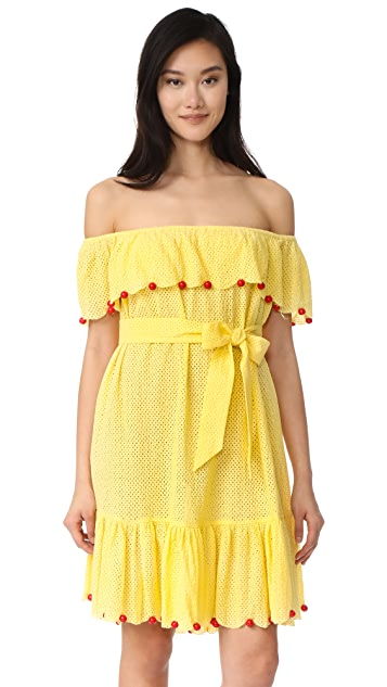 Marysia Swim Off the Shoulder Dress