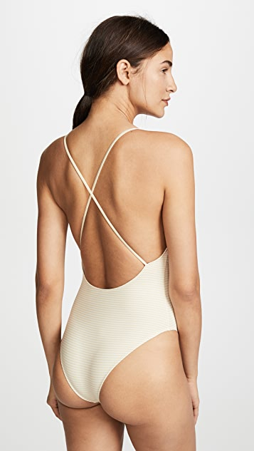 Marysia Reversible Harbour Island Maillot