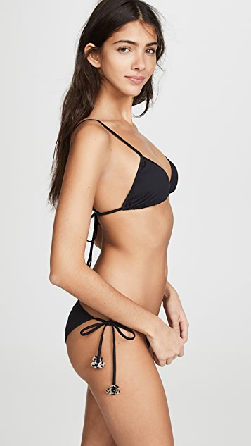 Marysia Sag Harbor Bikini Top