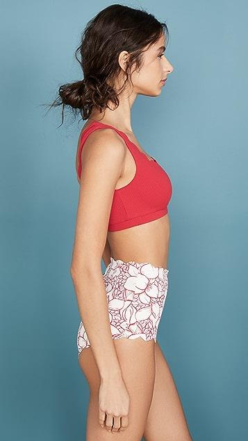 Marysia Palm Springs Bikini Top