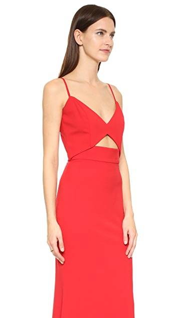 Michelle Mason Bustier Gown