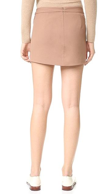 Michelle Mason Military Miniskirt