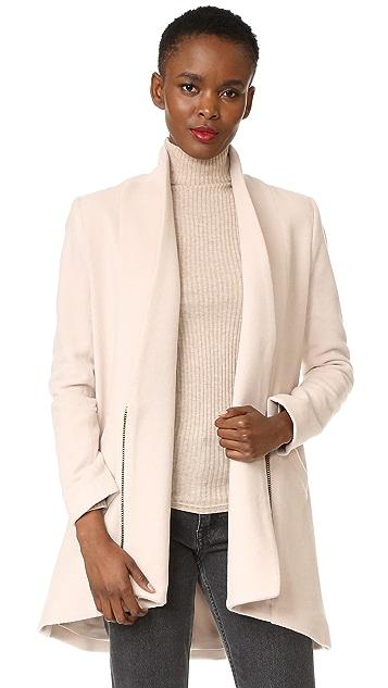 Michelle Mason Zipper Coat