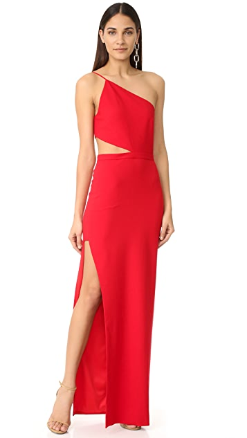 382f723bf899 Michelle Mason Asymmetrical Bandeau Gown ...