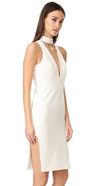 Michelle Mason Choker Plunge Dress