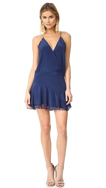Michelle Mason Cami Ruffle Mini Dress