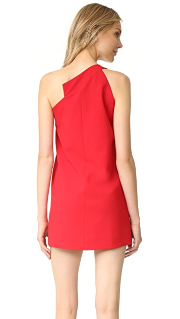 Michelle Mason One Shoulder Dress