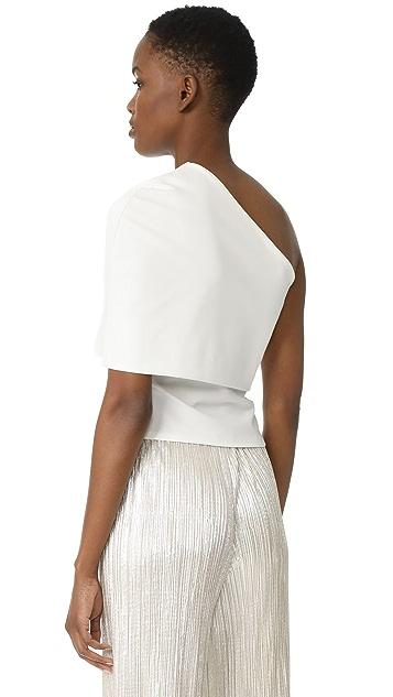 Michelle Mason Asymmetrical Cocoon Top