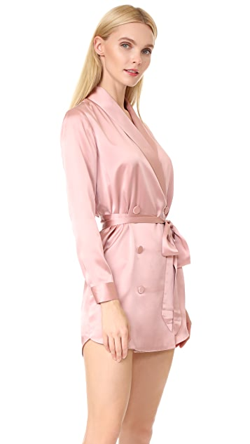 Michelle Mason Belted Dress Jacket