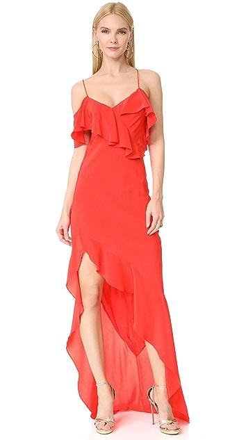 9bf904ae7f93b Michelle Mason Asymmetrical Ruffle Gown | SHOPBOP