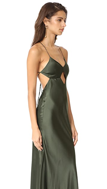 Michelle Mason Cutout Gown
