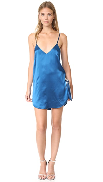 Michelle Mason Slip Mini Dress