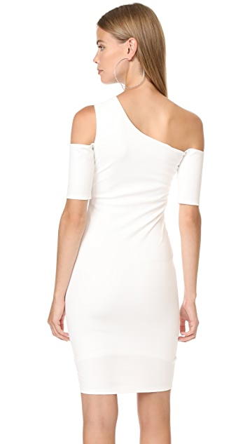 Michelle Mason Cold Shoulder Dress