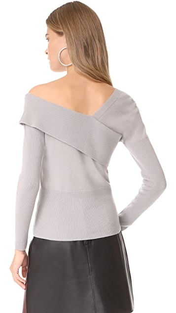 Michelle Mason Asymmetrical Band Sweater