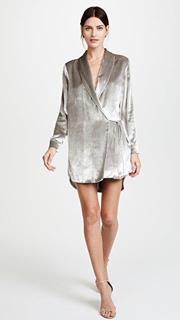 Michelle Mason Wrap Jacket Dress