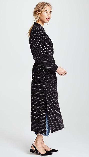 Michelle Mason Robe with Slits