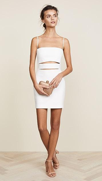 Michelle Mason Cutout Mini Dress