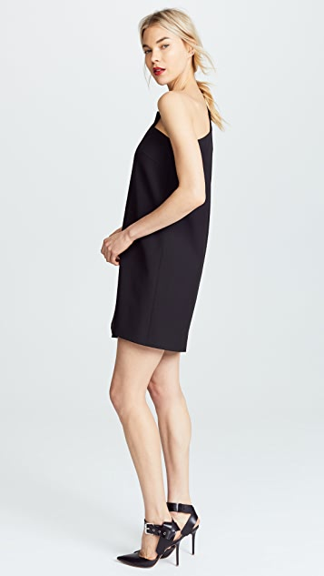 Michelle Mason One Sleeve Shift Dress