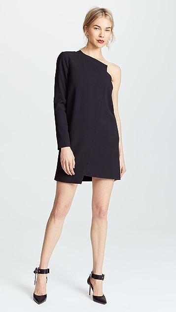 Michelle Mason One Sleeve Shift Dress