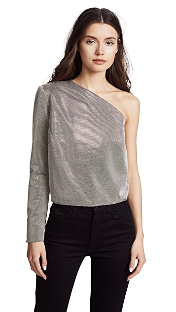 Michelle Mason One Sleeve Top