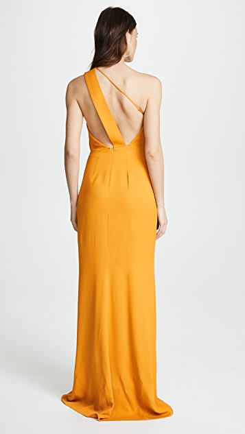 Michelle Mason Back Strap Gown