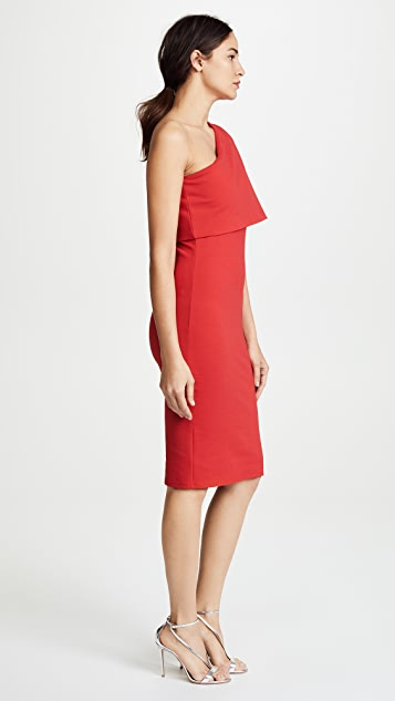 Michelle Mason Asymmetrical Cocoon Dress